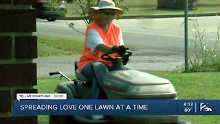 Spreading love one lawn at a time