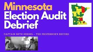 Minnesota Election Audit Debrief: Captain Seth Keshel