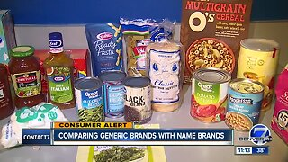 What's the difference between store brand and name brand groceries?