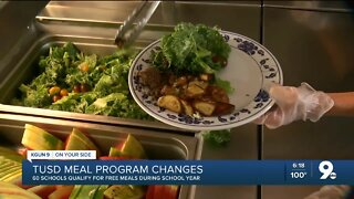 TUSD offers new school lunch program