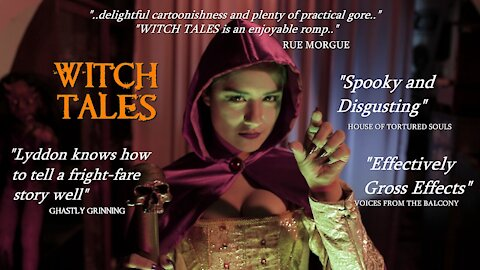 WITCH TALES (2020) Horror Anthology Movie English Trailer