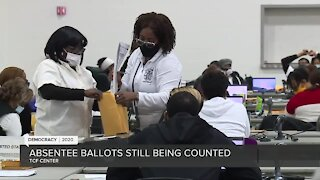 Absentee ballots still being counted in Michigan