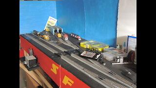 Model Train Layout Update 2/9/2021