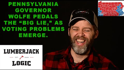 PENNSYLVANIA UPDATE!! Problems arise while WOLFE pedals THE BIG LIE.