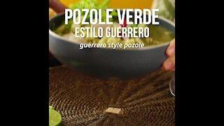 Pozole Verde Guerrero Style