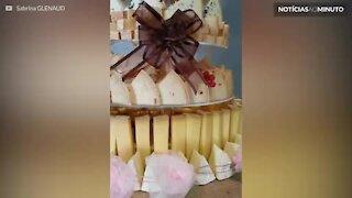 Este bolo é o sonho dos amantes de queijo