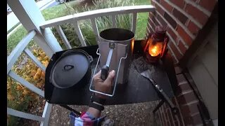 Dutch Oven Meatloaf | Outdoor Fall Cooking
