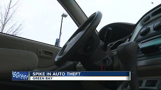 Auto theft up in Green Bay