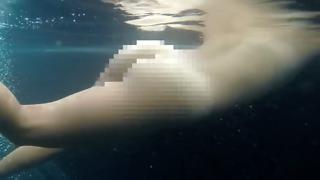 under water Flatulence in 120 Fps