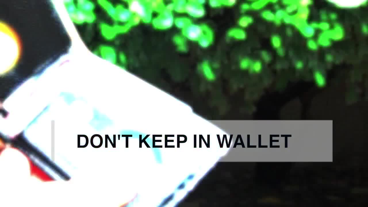 Don't keep these things in your wallet