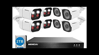 Unboxing Security Camera System from Amazon