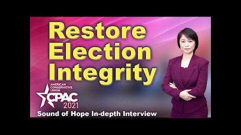 How to Restore Election Integrity (CPAC Interview #1)