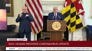 Gov. Hogan: Restaurants can resume outdoor dining, outdoor activities can resume beginning Friday