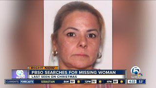 Woman missing in Palm Beach County since around Christmas