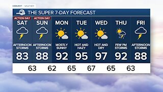 Denver7 Weather Action Day for the Colorado high country through Sunday
