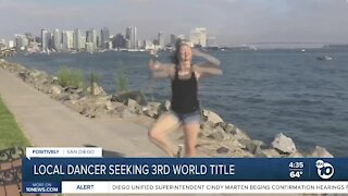 Local dancer seeking third world championship
