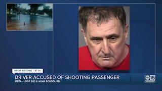 Uber driver arrested after allegedly firing gun, injuring passenger in Mesa