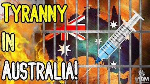 Australian TYRANNY! - No Jab, No Pay - LOCKDOWNS Continue As Millions Of Jobs THREATENED!