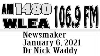 Wlea Newsmaker, January 6, 2021, Dr Nick Waddy