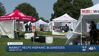 Market helps Hispanic businesses