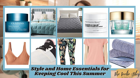 The Teelie Blog | Style and Home Essentials for Keeping Cool This Summer | Teelie Turner