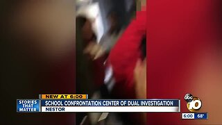 School confrontation center of dual investigation