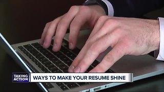 Ways to make your resume shine