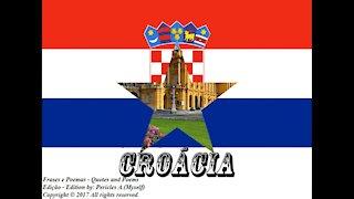 Bandeiras e fotos dos países do mundo: Croácia [Frases e Poemas]