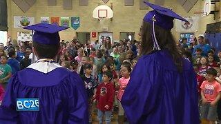 High school grads inspiring the next generation