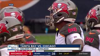 Mitch Trubisky throws for 6 touchdowns, Chicago Bears pound Tampa Bay Buccaneers 48-10