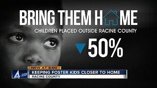 Keeping foster kids in Racine County
