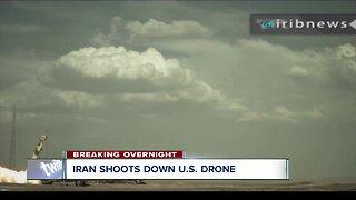 Iran shoots down US drone
