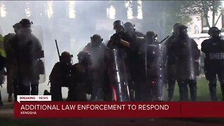 President Trump says Governor Tony Evers has accepted federal assistance over Kenosha unrest