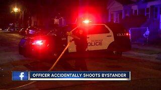 MPD Officer shoots bystander