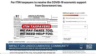 COVID-19 impact on undocumented community