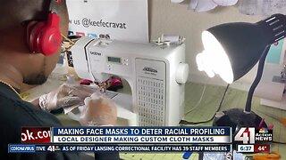 Making face masks to deter racial profiling