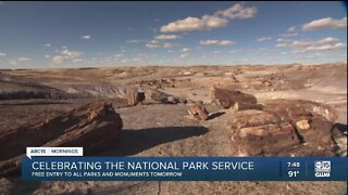 Free admission to National Park Service
