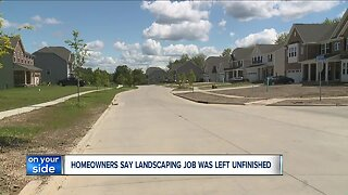 Customers claim contractor left weed-infested projects unfinished