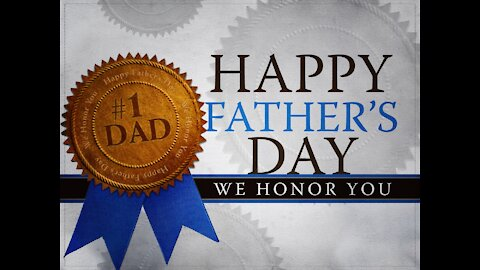2021-06-20 Father's Day message