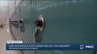 Lee County Schools tax spend breakdown