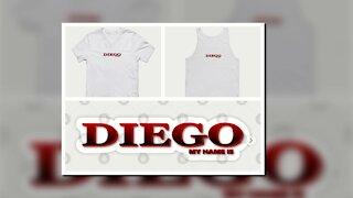 DIEGO. MY NAME IS DIEGO. SAMER BRASIL (TEEPUBLIC)