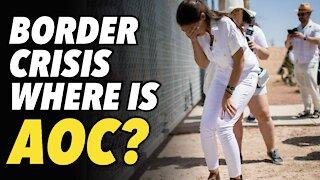 Biden Border Crisis. Where is AOC?
