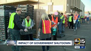 Valley residents feeling fallout of Government shutdown