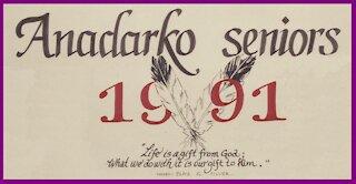 Anadarko High School Seniors 1991 Graduation