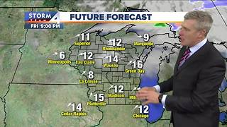Warming trend starts Thursday