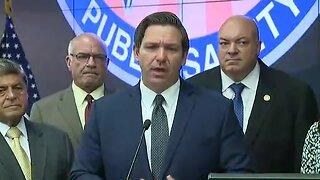 Press conference: Governor DeSantis discusses FEMA reimbursement changes