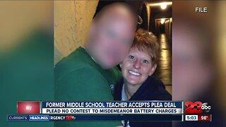 Former Standard Middle School teacher accepts plea deal