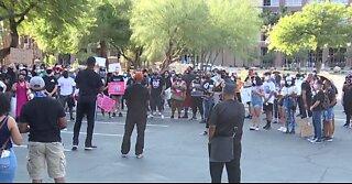 Black people matter rally held in Las Vegas