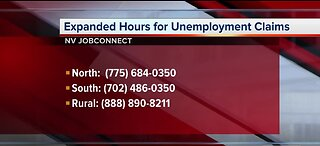 NV JobConnect: Expanded hours for unemployment claims