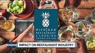 Impact on Michigan restaurant industry